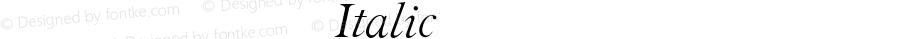 方正科技符号 Italic 1.0