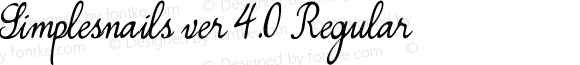 Simplesnails ver 4.0 Regular Version 4.00 August 20, 2012, initial release