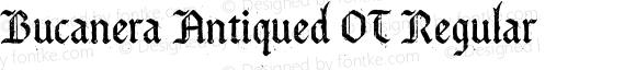 Bucanera Antiqued OT Regular