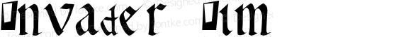 Invader Zim Macromedia Fontographer 4.1 7/5/99