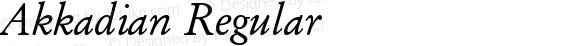 Akkadian Regular