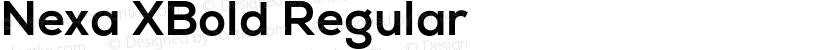 Nexa XBold Regular Preview Image