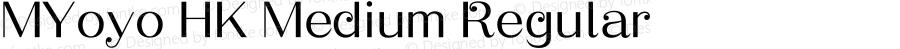 MYoyo HK Medium Regular Version 1.0