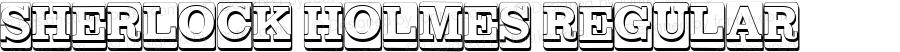SHERLOCK HOLMES Regular Version 1.000 2012 initial release