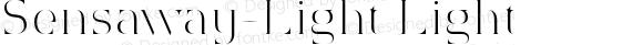 Sensaway-Light Light Version 1.0