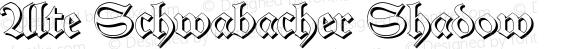 Alte Schwabacher Shadow Version 2.1; 2001
