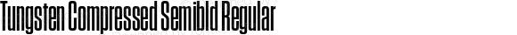 Tungsten Compressed Semibld Regular