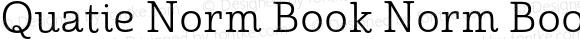 Quatie Norm Book Norm Book