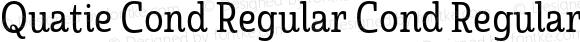 Quatie Cond Regular Cond Regular