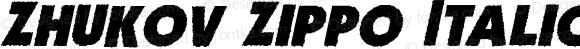 Zhukov Zippo Italic Version 1.001 2008