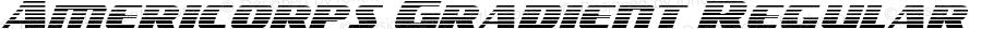 Americorps Gradient Regular Version 1.0; 2012