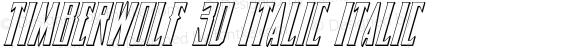 Timberwolf 3D Italic Italic 002.000