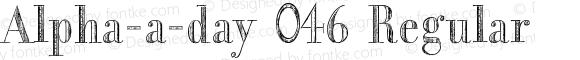 Alpha-a-day 046 Regular Version 3.00 December 24, 2012