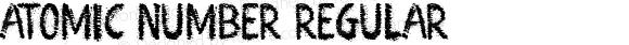 Atomic Number Regular Version 1.00 February 9, 2013, initial release