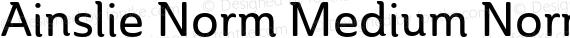 Ainslie Norm Medium Norm Medium preview image