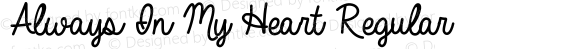 Always In My Heart Regular Version 001.000