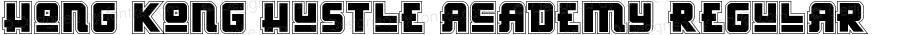 Hong Kong Hustle Academy Regular Version 1.0; 2013