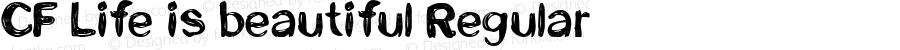 CF Life is beautiful Regular Version 1.00 2013
