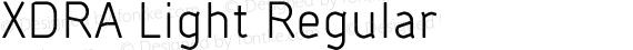 XDRA Light Regular preview image