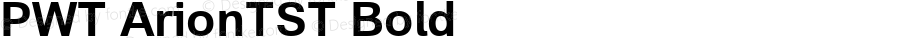 PWT ArionTST Bold Version 0.9 beta