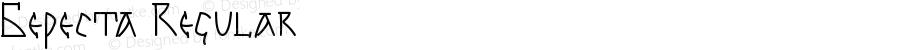 Береста Regular Version 1.00 November 4, 2012, initial release