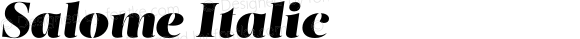 Salome Italic