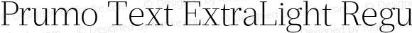 Prumo Text ExtraLight Regular Version 1.001;PS 001.001;hotconv 1.0.70;makeotf.lib2.5.58329