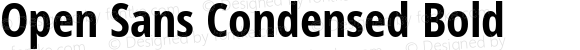 Open Sans Condensed Bold