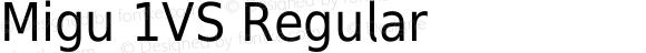 Migu 1VS Regular