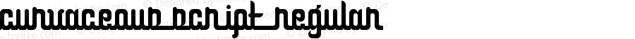 Curvaceous Script Regular