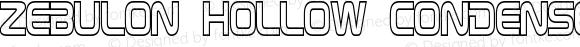 Zebulon Hollow Condensed Regular Version 1.00 - June 21, 2013