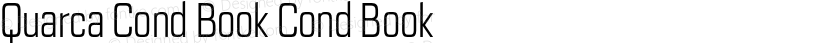 Quarca Cond Book Cond Book Preview Image
