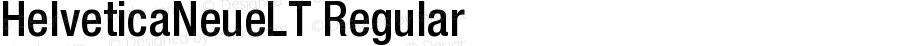 HelveticaNeueLT Regular 006.000