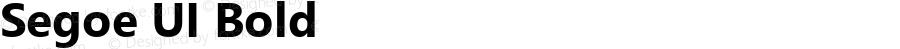 Segoe UI Bold Version 5.32