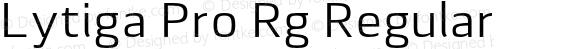 Lytiga Pro Rg Regular 001.000