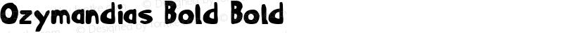 Ozymandias Bold Bold Preview Image