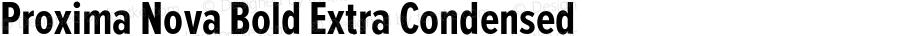 ProximaNova-BoldExtraCondensed
