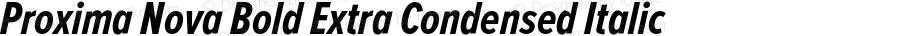 ProximaNova-BoldExtraCondensedI
