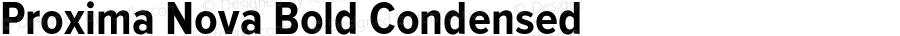 ProximaNova-BoldCondensed