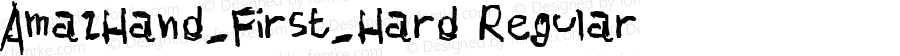 AmazHand_First_Hard Regular Version 1.00 February 18, 2011, initial release