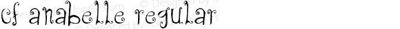 CF Anabelle Regular Version 1.00 2012