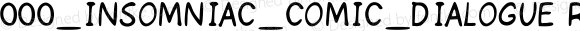 000_INSOMNIAC_COMIC_DIALOGUE Regular Version 2.3