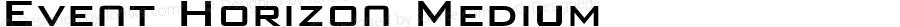 Event Horizon Medium v1.1 Copyright Mass Illusion / Michael Knight