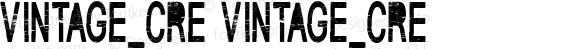VINTAGE_CRE VINTAGE_CRE Version 1.000