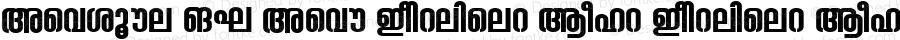 Ashique ML Ashu Condensed Bold Condensed Bold Version 001.000
