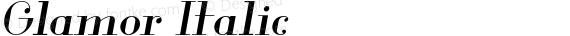 Glamor Italic preview image