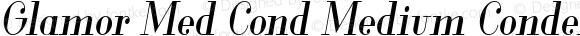 Glamor Med Cond Medium Condensed Italic