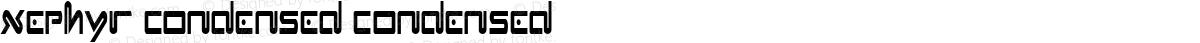 Xephyr Condensed Condensed