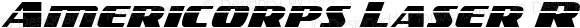 Americorps Laser Regular Version 1.0; 2012