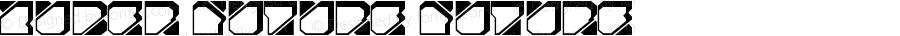 Zuber future Future Version 1.00 April 13, 2012, initial release